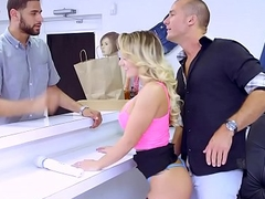 Brazzers.com - (cali carter) - large boobs at work