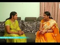 Hot Telugu Aunty Liking more his Novitiate Friend at Home