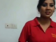 sexy indian girl undresses for money