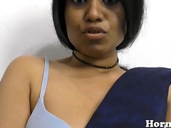 Indian MILF spreads her soft wet crack and fucks her big exasperation