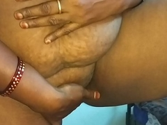 desi indian tamil telugu kannada malayalam hindi sizzling cheating join in matrimony vanitha wearing blue colour saree showing big boobs and bald pussy press unchanging boobs press nip rubbing pussy masturbation