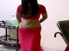 Saree Removal By Sexy Indian Girl