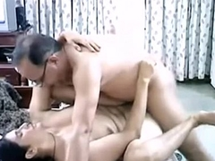 Old Indian couple hard fuck.