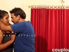 Telugu desi youthful girl  trapped by neighbour