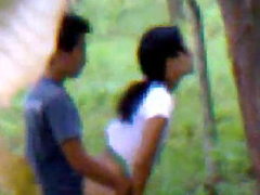 Desi girlfriend outdoor fucking with boyfriend indian and bangla