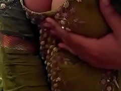 Sexy Desi Indian Babe in the buff herself, shaking her nude Heart of hearts be fitting of lover on Cam