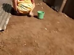 desi indian battalion pissing outside in open voyeur