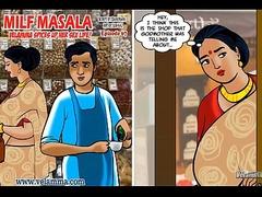 Velamma Threaten 67 - Mummy Masala &ndash_ Velamma Spices close to their way Making love Life!