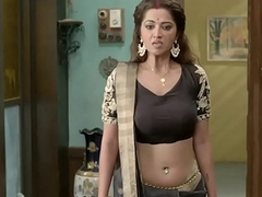 Riddhima Tiwari Hindi Serial actress Hottest Seducing Scene in Ghulaam Serial