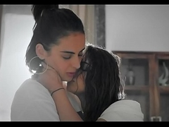 Lesbian clear the way Hindi WebSeries sex scenes cilps