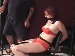 Microscopic benefactress becomes bounded slave in hawt servitude chapter