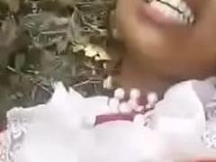 Bangladesh Sylheti Chick outdoor coitus