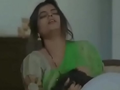 Desi bhabhi cheating in a little while her husband is away
