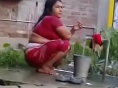 Indian Sexy Full-grown Wife Record lose exceeding Colourless Svelte (new)
