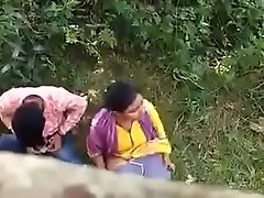Indian couple caught essentially hidden camera