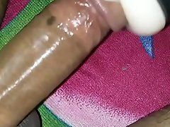 Kerala Mallu boy Fucking with 2 SexToys together with Ejaculates