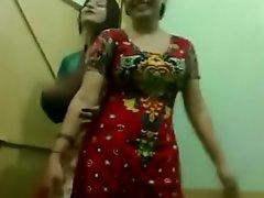young girls hostel masthi troop dance