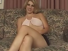 Cute blonde gets fucked by indian
